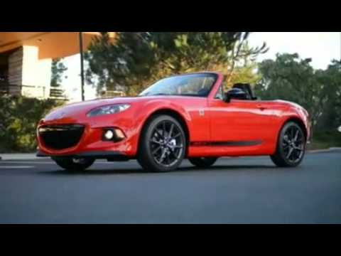 2013 Mazda Miata MX5: Car Review by Lauren Fix