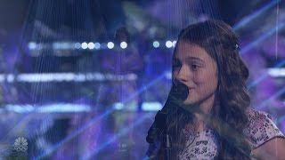 America's Got Talent 2016 Laura Bretan 13 Y.O. Opera Powerhouse Live Shows S11E12