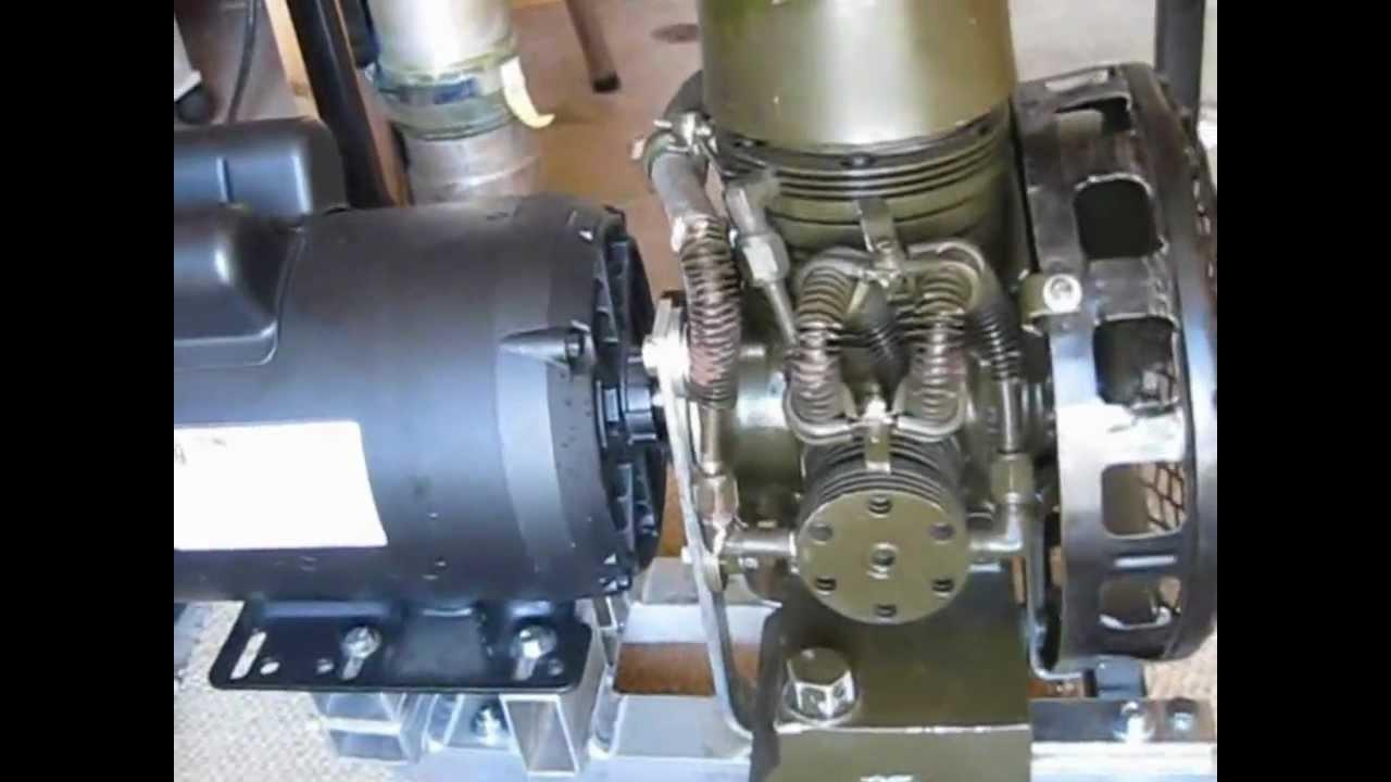 Walter Kidde High Pressure Scuba Compressor Youtube