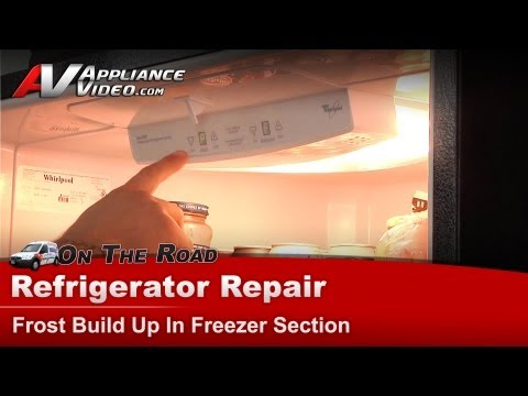 Whirlpool, Maytag, Kitchen-Aid Refrigerator Repair - Frost Build Up In Freezer - GB2FHDXWS07