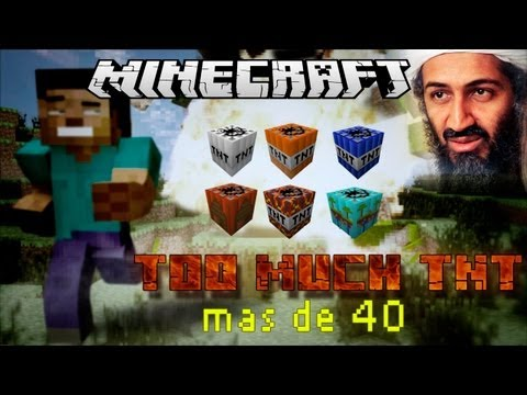 Minecraft 1.5.2 - Como Instalar Too Much TNT mod
