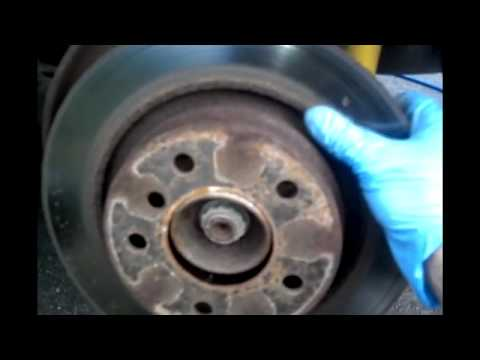 BMW Rear Brakes Replacement. Rear Pads. Rotors. and Brake Sensor E46 3 Series