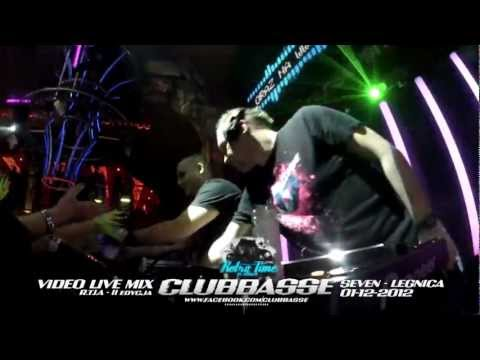 CLUBBASSE 40min VIDEO LIVE MIX @ R.T.I.A edycja 2 - SEVEN LEGNICA! FULL VIDEO