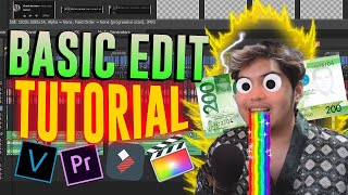 PANO MAG-EDIT NG SARILI MONG VIDEO (200 pesos edit tour) - Basic Editing Tutorial #2