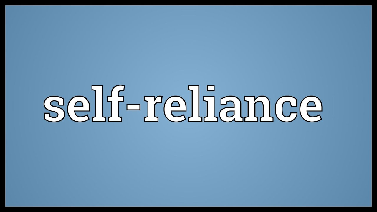 self reliance and other essays sparknotes