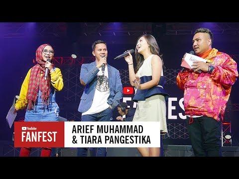Arief Muhammad  amp  Tiara Pangestika   YouTube FanFest Indonesia 2017