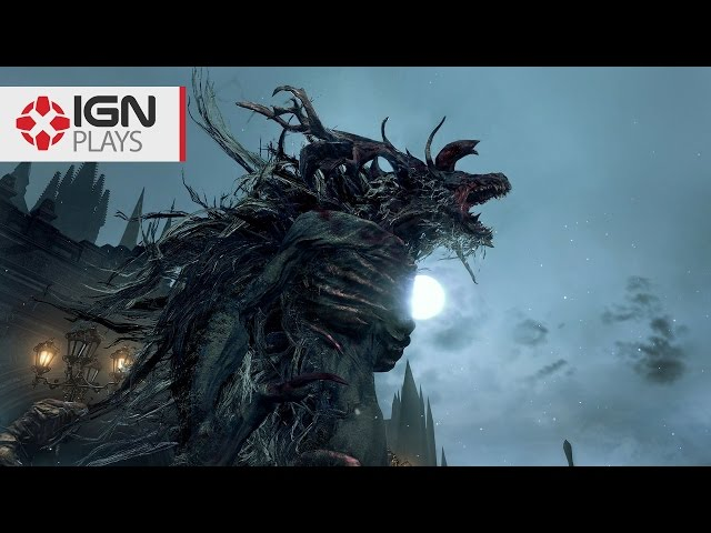 Watch Us Destroy Bloodborne's Cleric Beast on New Game Plus - IGN Plays