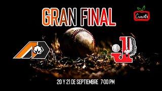 INDIOS DE JUREZ VS ALGODONEROS DE DELICIAS 77 JUEGO FINAL ESTATAL 2019