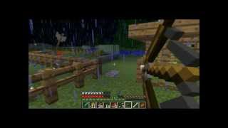 Minecraft wolf attack!! Cow Breeding Farm