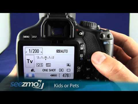 Canon Rebel T2i/550D: Kids or Pets