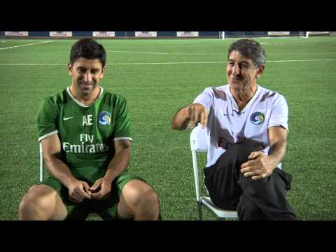 Alecko Eskandarian and his father Andranik talk about what it was like for Alecko to grow up around the New York Cosmos.