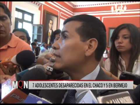 26-03-2015: 21:00: 7 ADOLESCENTES DESAPARECIDAS EN EL CHACO Y 5 EN BERMEJO