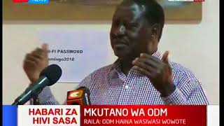 Raila Odinga now in a strategic move to counter Ruto's growing popularity among ODM strongholds