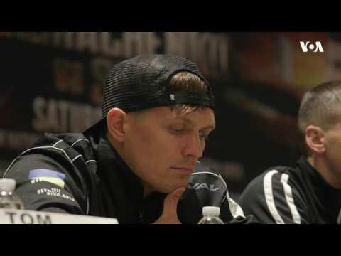 Тріо українських боксерів викликало ажіотаж у США напередодні поєдинків