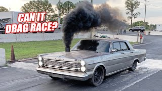 We Took Our Cummins Powered Galaxie DRAG RACING! (Torque Machine)