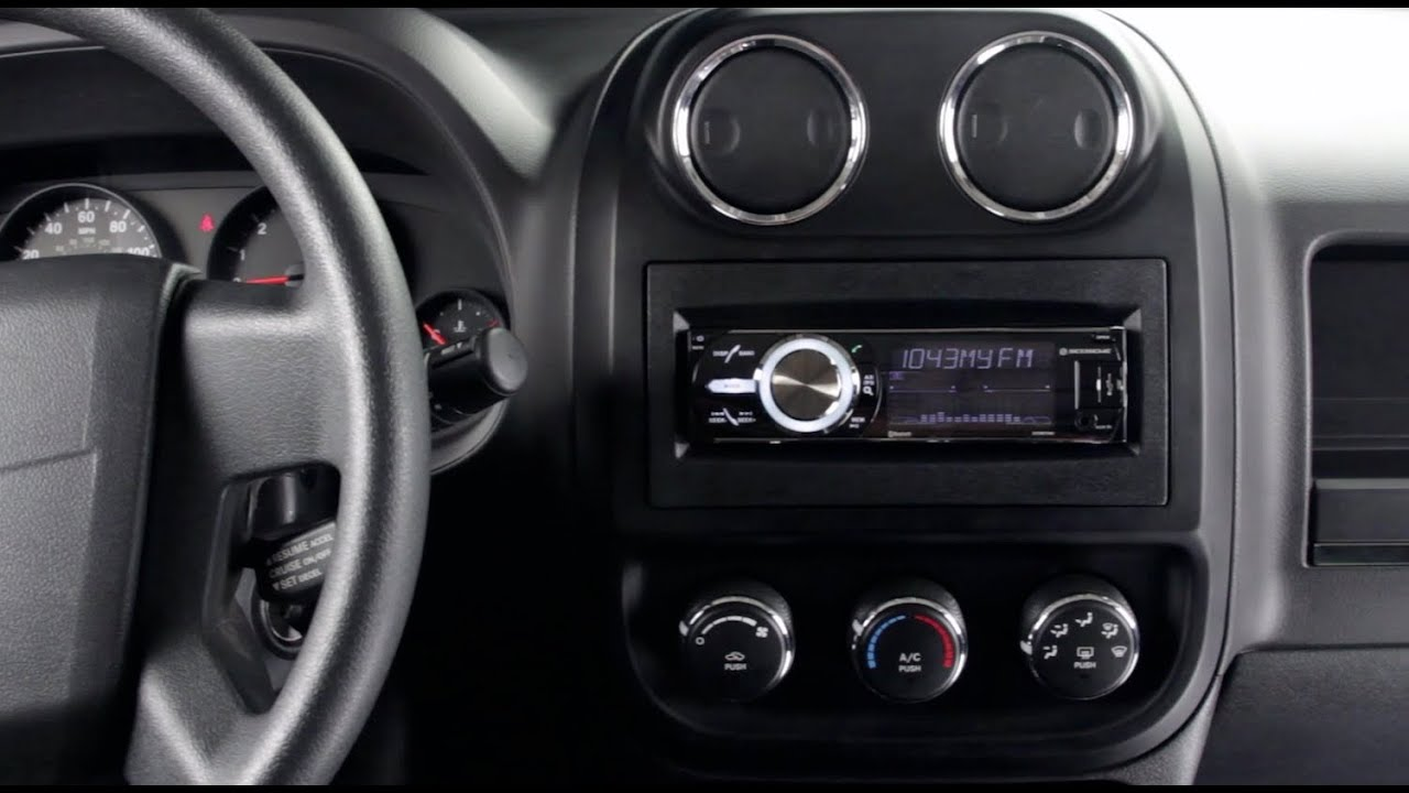 Install A New Stereo In A Jeep Patriot With The Scosche
