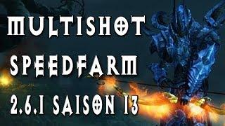 Multishot Speedfarm T13 ~ Build Chasseur de démons ~ Diablo 3 [Saison 13]