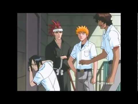 Ichigo, Renji, Uryu, Chad break into Orihime