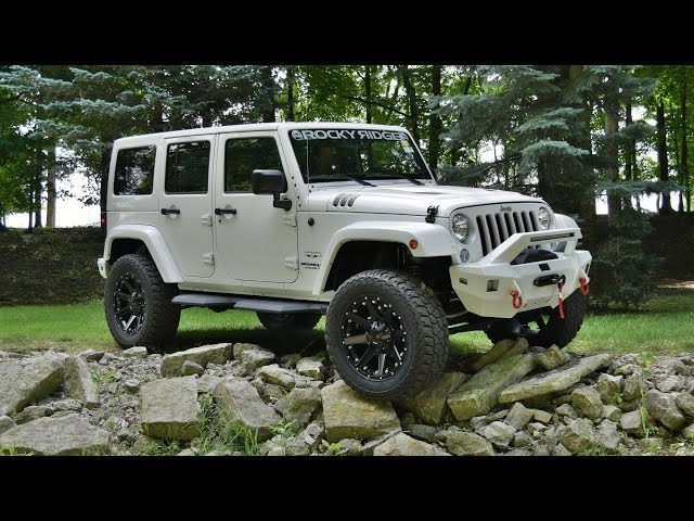SUPERCHARGED Jeep Wrangler Unlimited Sahara - Rocky Ridge ...