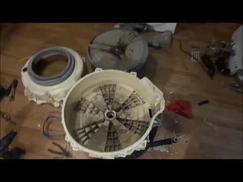 Ремонт стиральных машин своими руками подшипник барабана