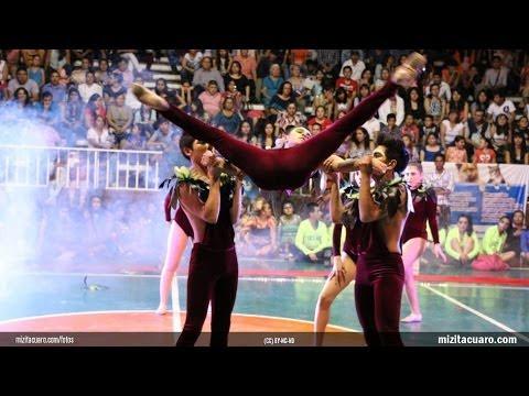 Intercolegial de baile Zitácuaro 2014