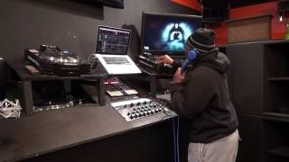 DJ Punch Live At The Man Cave Playing His 2017 Ep Live