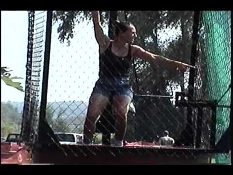 Pretty Lady gets Dunked Relentlessly with Bonus Muddy Girl Footage