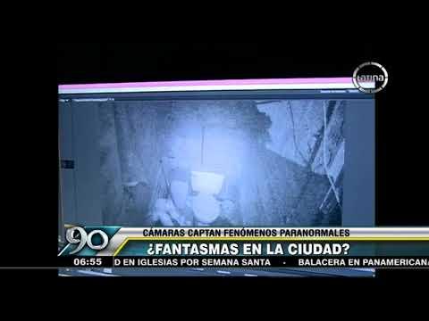 ¿Fantasmas en la ciudad?: Cámaras de seguridad captan fenómenos paranormales