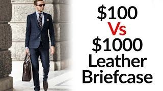 $100 vs $1000 Leather Bag | Low Vs High Quality Bags | 3 Major Differences | Tanning Process