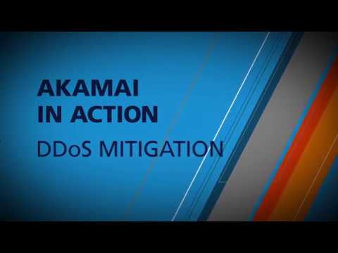 Akamai in Action DDoS Mitigation