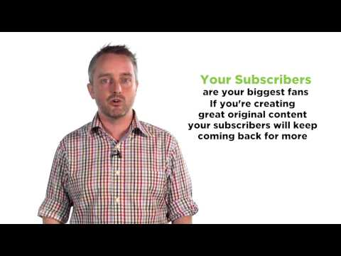 How Your Youtube Subscribers Increase Your Video's Value :: Video Blogging Tips And Tricks