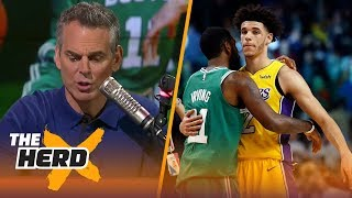 Celtics are turning into the Patriots 2.0 while Lonzo Ball continues to struggle in LA   THE HERD