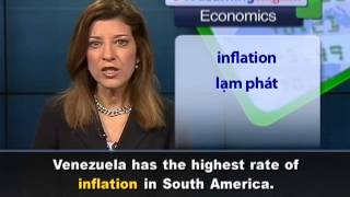 Anh ngữ đặc biệt: Venezuelan Election Economy