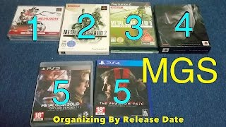 Metal Gear Solid Collection (edepot's Game Anthology) For PS1, PS2, PS3, PS4