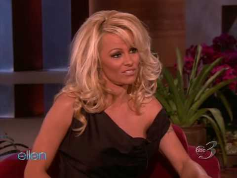 Pamela on The Ellen DeGeneres Show - March 18, 2010 (Full Interview)