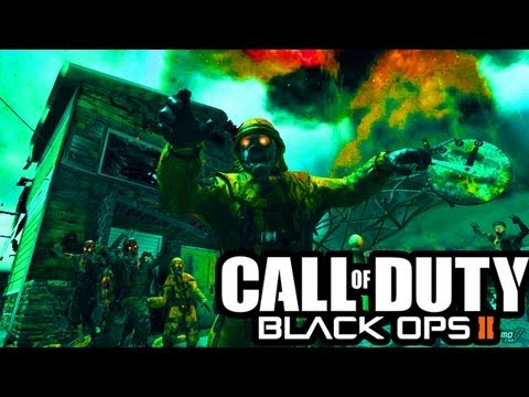 FUNNY ZOMBIE SUICIDE - Top Black Ops 2 Zombies Moments of the Week