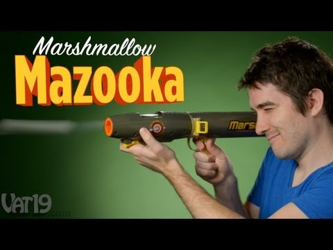 Mazooka Marshmallow Bazooka