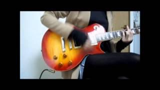 ギター弾いてみた(初音ミク/こっち向いてBaby)