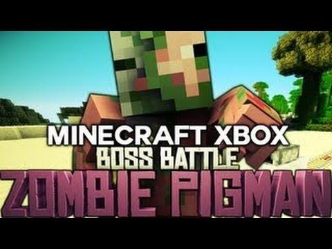 Zombie Pigman Zombie Pigman Boss Battle
