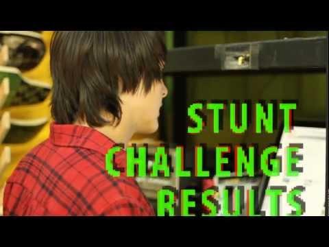 Jackson's Stunt Challange Results