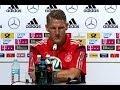 """Jugador alemán dice que choque con Brasil será """"duro"""" y llamó a estar atentos al árbitro."""