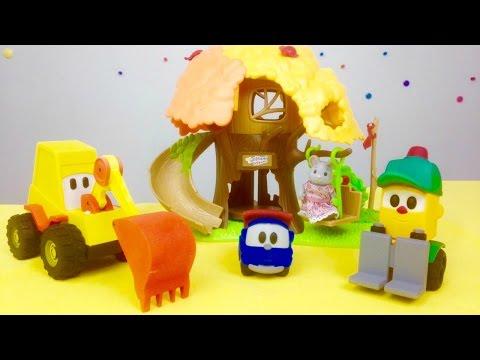 Грузовичок Лева - Строим детскую площадку с друзьями