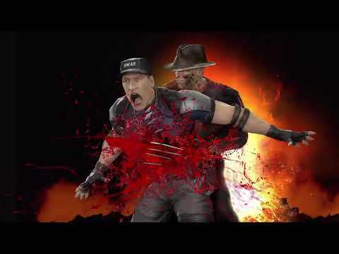 Mortal Kombat - Freddy Krueger Character Video (PS3, Xbox 360)