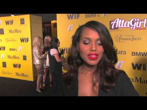 Kerry Washington Steps out post baby @WIF Crystal & Lucy Awards