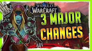 3 MAJOR CHANGES IN BFA   Fullscreen Mode Gone, Duelers Guild And MORE...