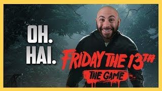 Jason getting a workout in Friday the 13th The Game!