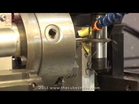 Gear Cutting - Machine Set-ups for using a Mill and 4th axis