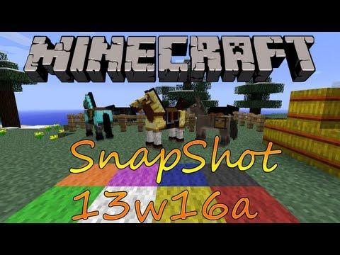 Minecraft Snapshot 13w16a - Instalar Español