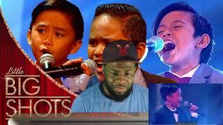 TNT Boys Sing Beyonce's Listen | Little Big Shots | Reaction