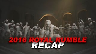 WWE Royal Rumble Live Results: The Royal Rumble Match